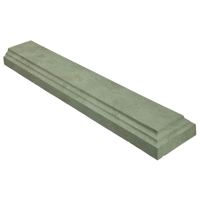 11.5x60 Baluster Base Terminal Ocean Green Light Limestone