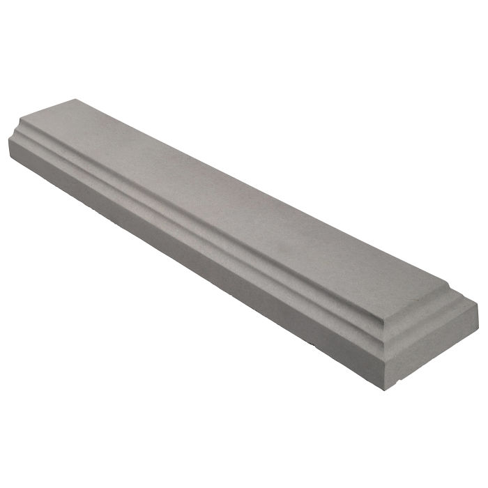 11.5x60 Baluster Base Terminal Sidewalk Gray
