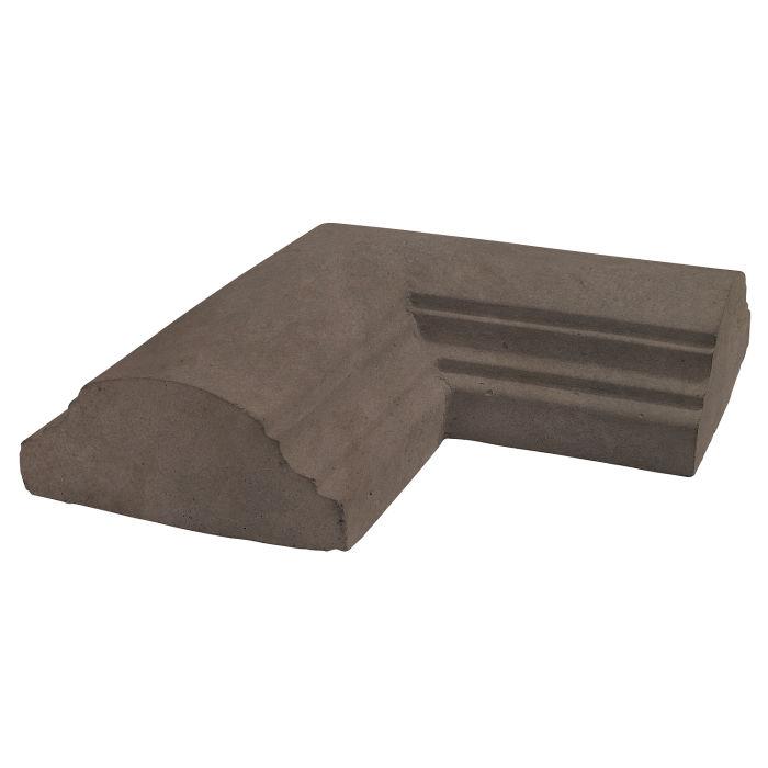 9x9 Handrail 1 Corner Charley Brown Limestone