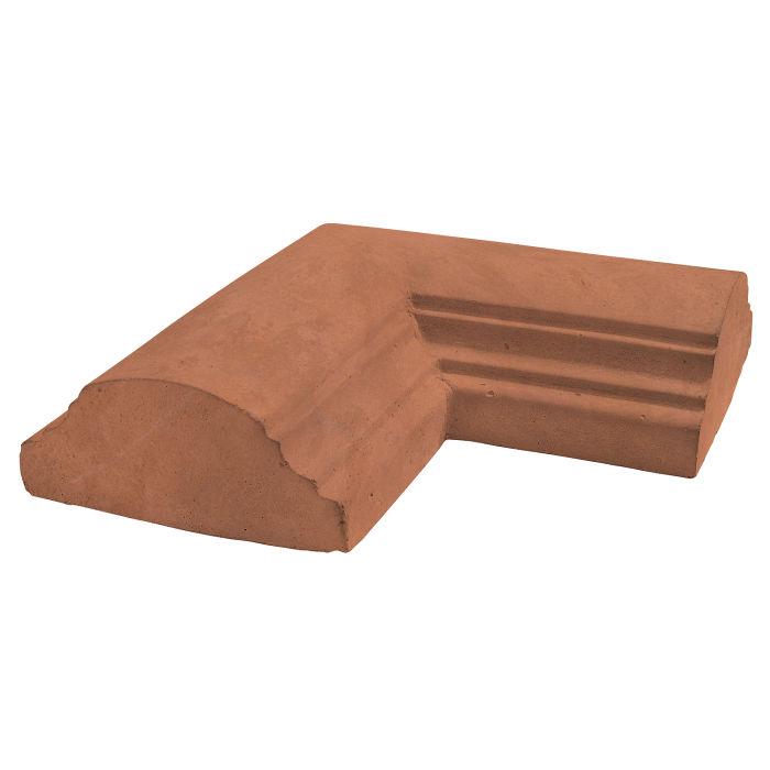 9x9 Handrail 1 Corner Desert Limestone