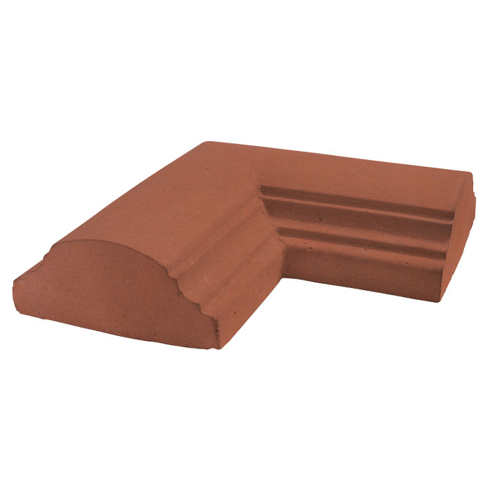 9x9 Handrail 1 Corner Mission Red