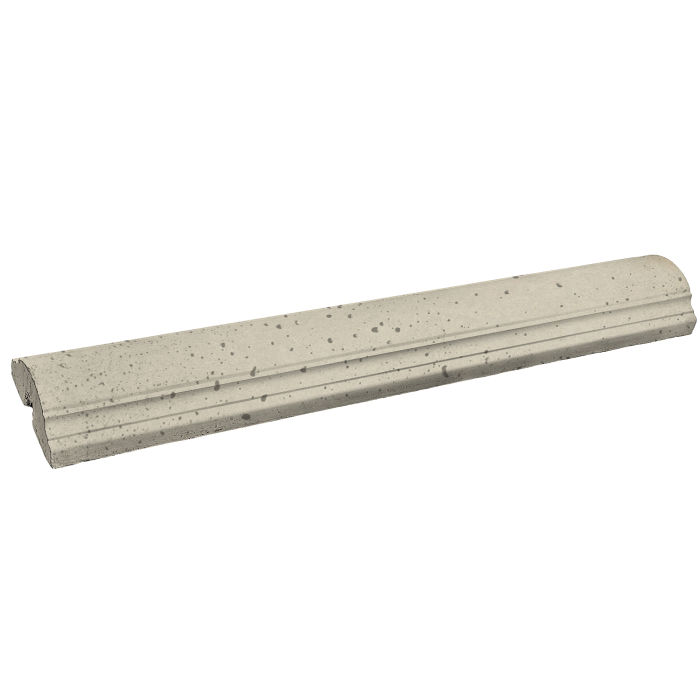 9x52 Handrail 1 Straight Early Gray Travertine