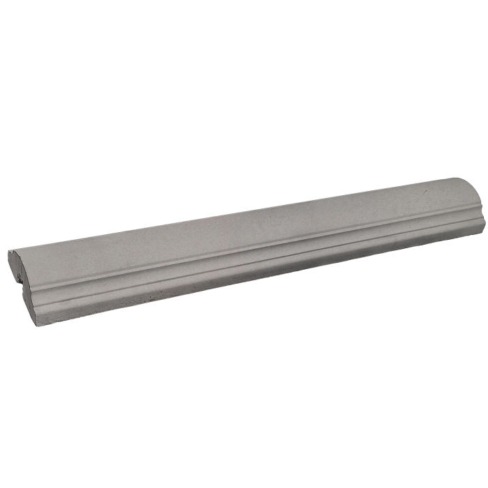 9x52 Handrail 1 Straight Sidewalk Gray
