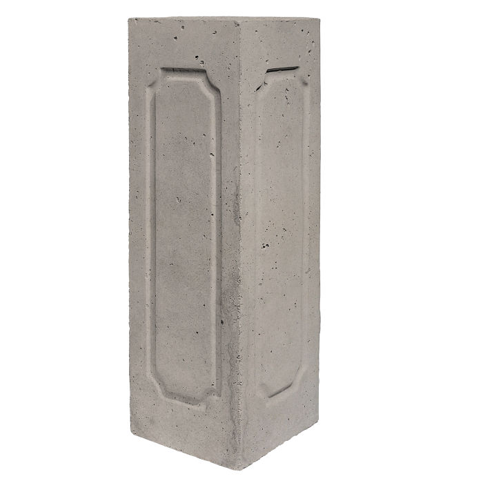 Starter Column 2 Side Corner Natural Gray