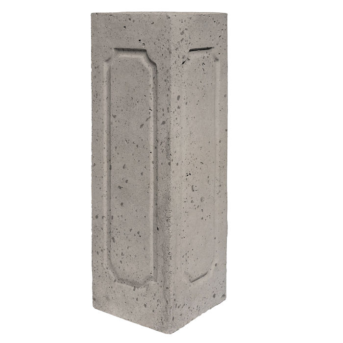 Starter Column 2 Side Corner Natural Gray Travertine