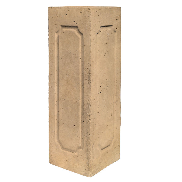 Starter Column 2 Side Corner Old California Limestone