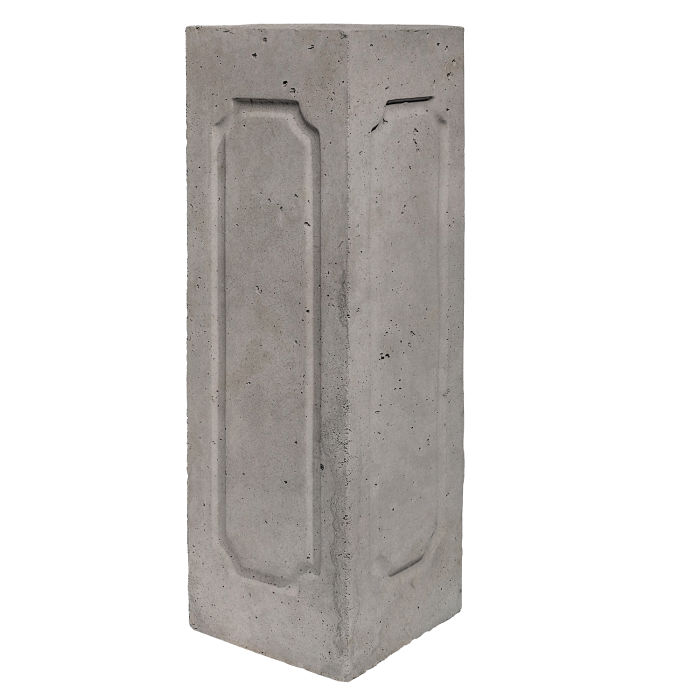 Starter Column 2 Side Corner Sidewalk Gray Limestone