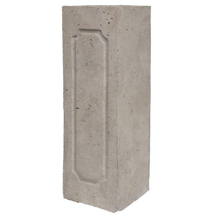 Starter Column 2 Side Opposite Natural Gray Limestone