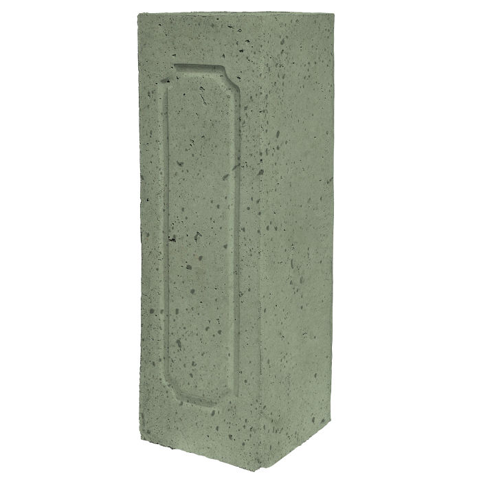 Starter Column 2 Side Opposite Ocean Green Light Travertine