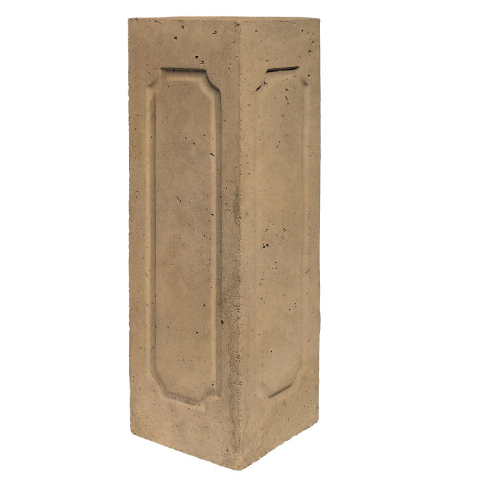 Starter Column 3 Side Corner Caqui Limestone
