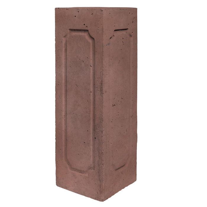 Starter Column 3 Side Corner City Hall Red Limestone
