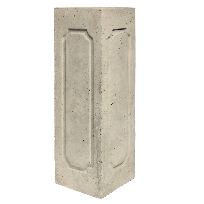 Starter Column 3 Side Corner Early Gray Limestone