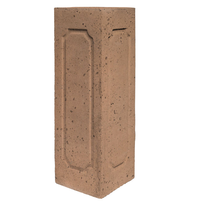 Starter Column 3 Side Corner Flagstone Travertine