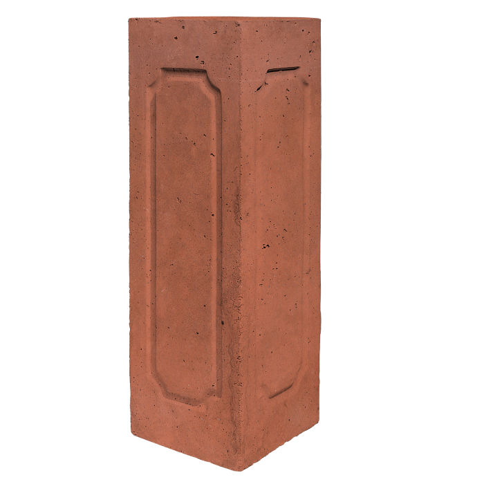 Starter Column 3 Side Corner Mission Red Limestone