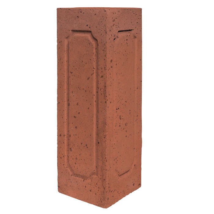Starter Column 3 Side Corner Mission Red Travertine