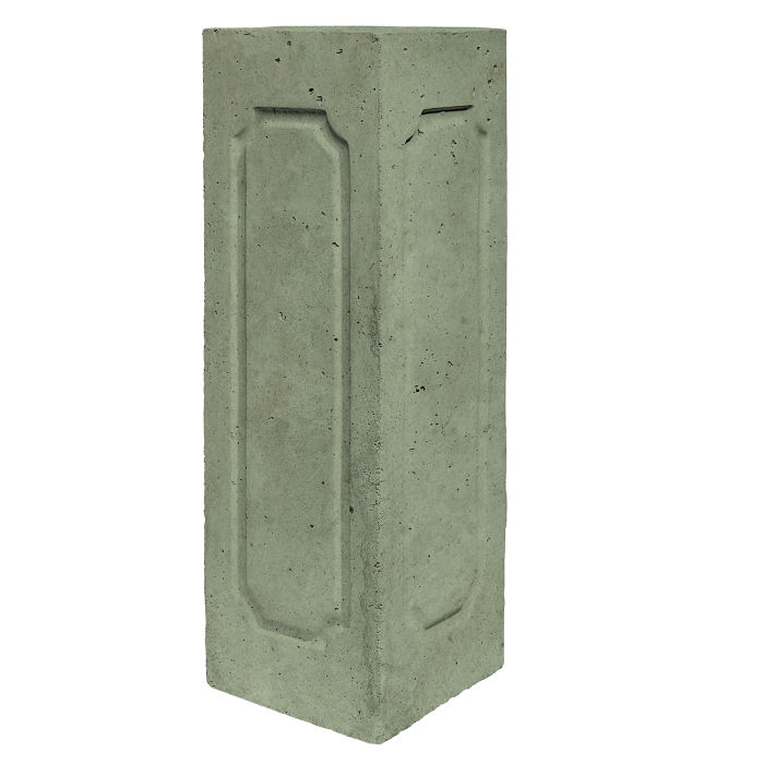 Starter Column 3 Side Corner Ocean Green Light Limestone