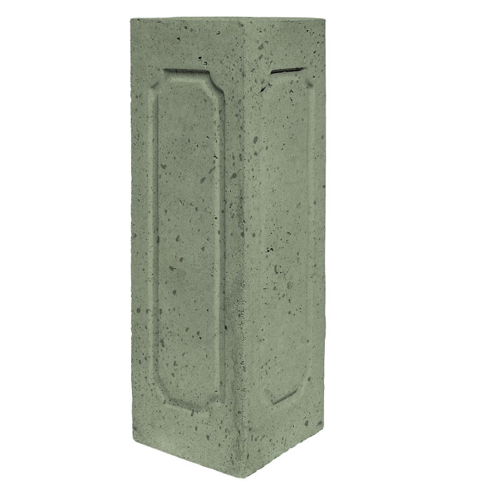 Starter Column 3 Side Corner Ocean Green Light Travertine
