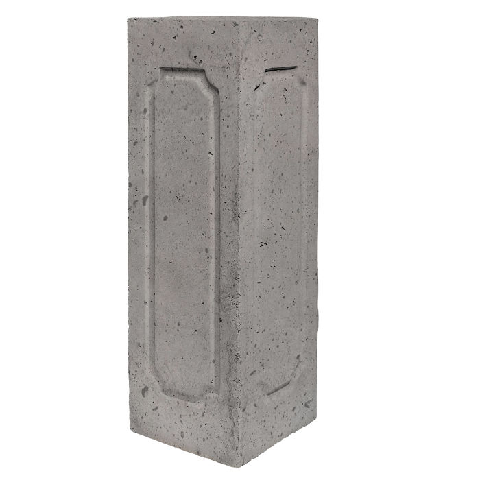 Starter Column 3 Side Corner Sidewalk Gray Luna