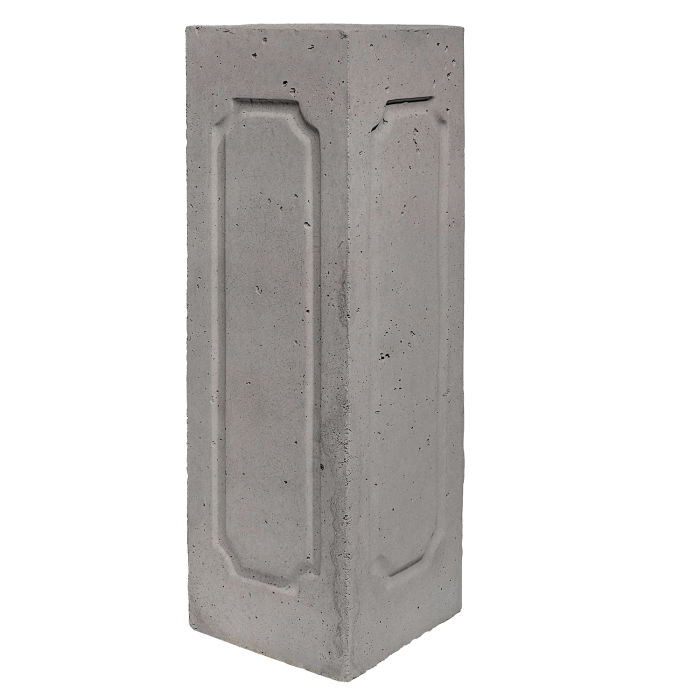 Starter Column 3 Side Corner Sidewalk Gray