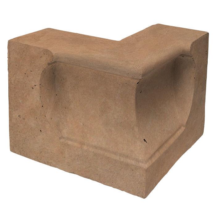Roman Curbing Andaluz Corner Gold Limestone