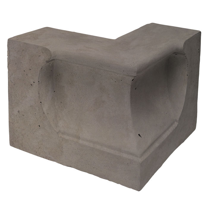 Roman Curbing Andaluz Corner Smoke Limestone