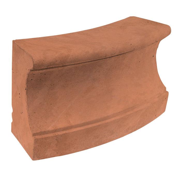 Roman Curbing Radius Set 12' Desert Limestone