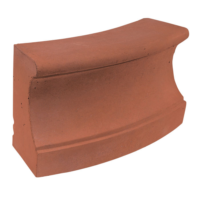 Roman Curbing Radius Set 12' Mission Red
