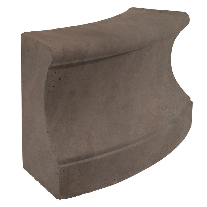 Roman Curbing Radius Set 3' Charley Brown Limestone