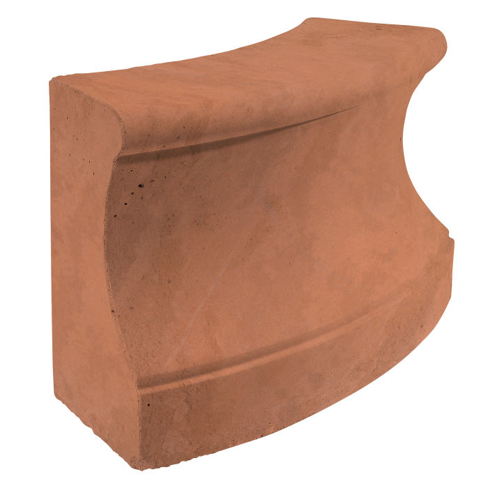Roman Curbing Radius Set 3' Desert Limestone