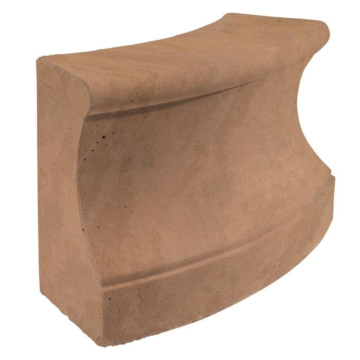Roman Curbing Radius Set 3' Flagstone Limestone