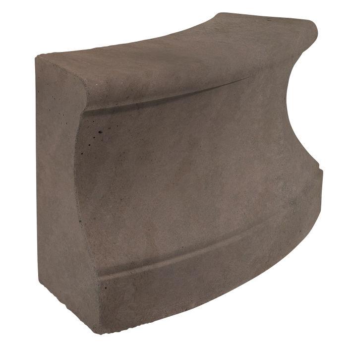 Roman Curbing Radius Set 5' Charley Brown Limestone
