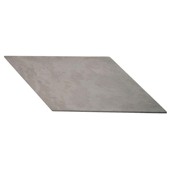 12x24 Roman Pavers Chevron B Sidewalk Gray Limestone
