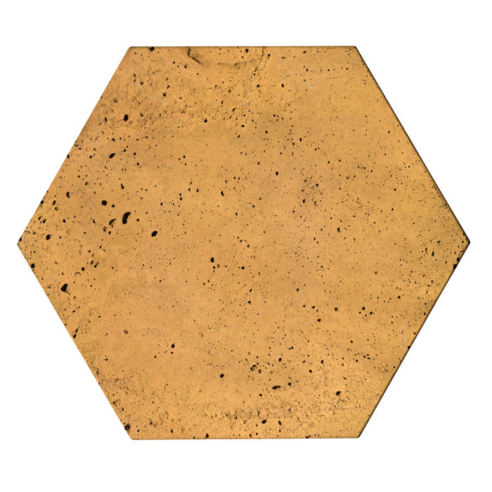 8x8x2 Roman Hexagon Paver Buff Luna