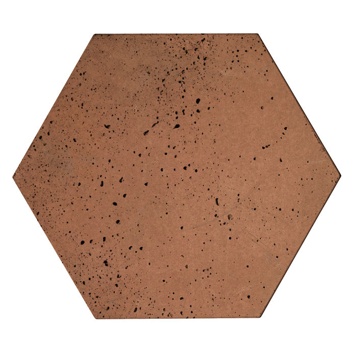 8x8x2 Roman Hexagon Paver Desert 1 Travertine