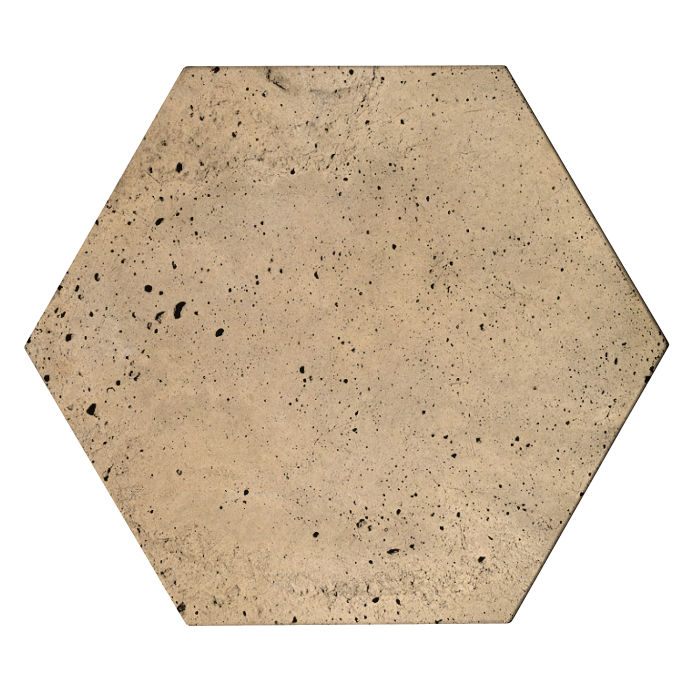 8x8x2 Roman Hexagon Paver Hacienda Luna
