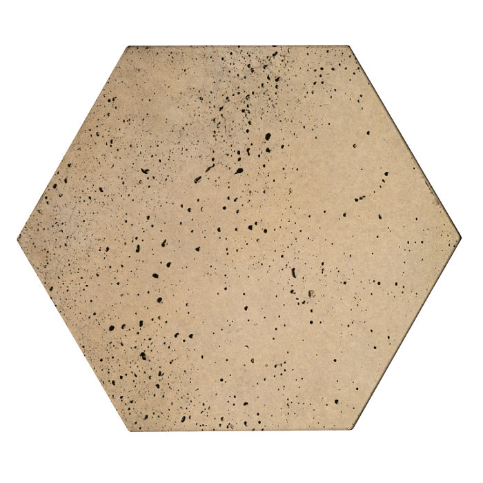 8x8x2 Roman Hexagon Paver Hacienda Travertine