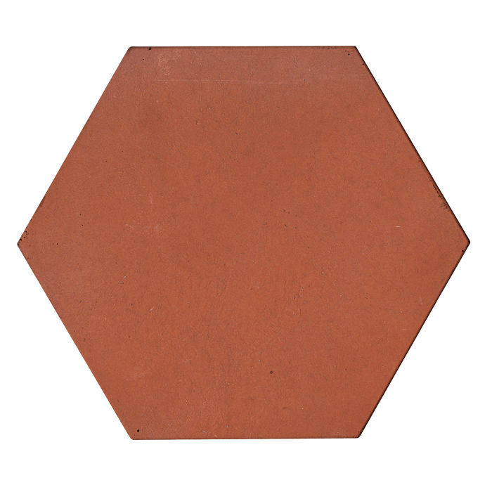 8x8x2 Roman Hexagon Paver Mission Red