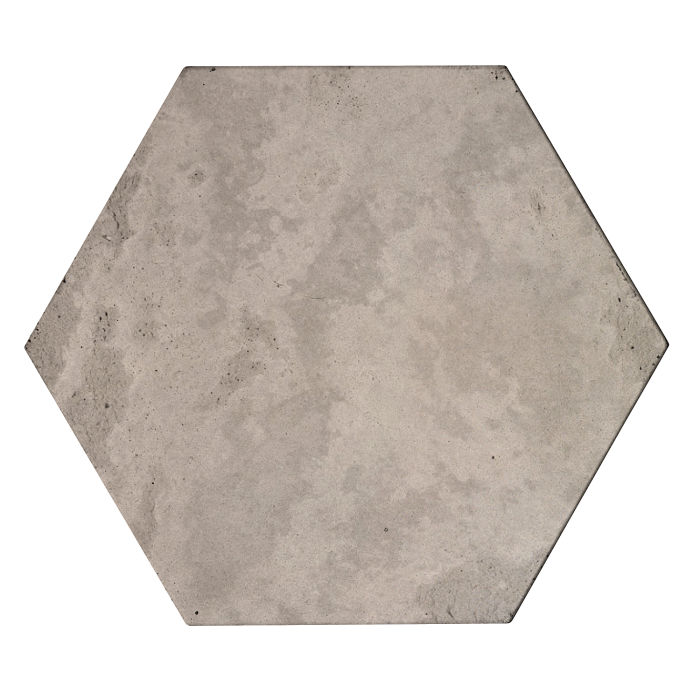 8x8x2 Roman Hexagon Paver Natural Gray Limestone