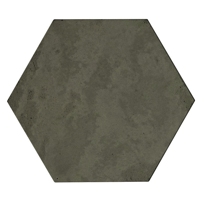 8x8x2 Roman Hexagon Paver Ocean Green Dark Limestone