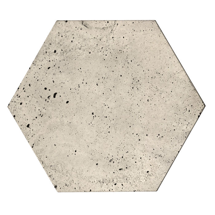 8x8x2 Roman Hexagon Paver Rice Luna