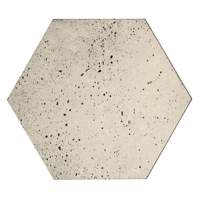 8x8x2 Roman Hexagon Paver Rice Travertine