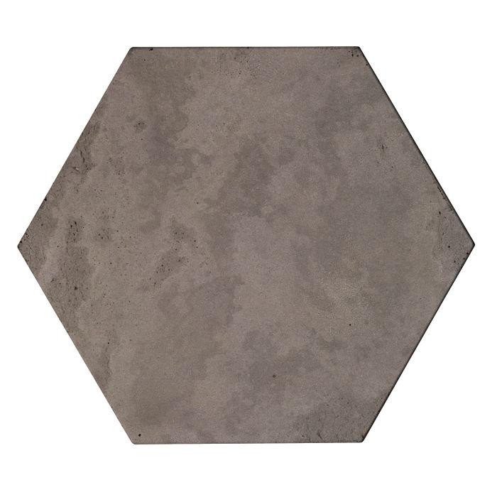 8x8x2 Roman Hexagon Paver Smoke Limestone