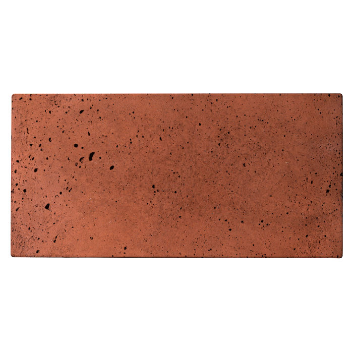 6x12x2 Roman Paver Mission Red Luna