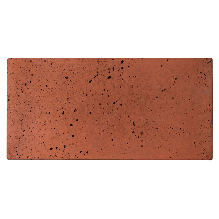 6x12x2 Roman Paver Mission Red Travertine