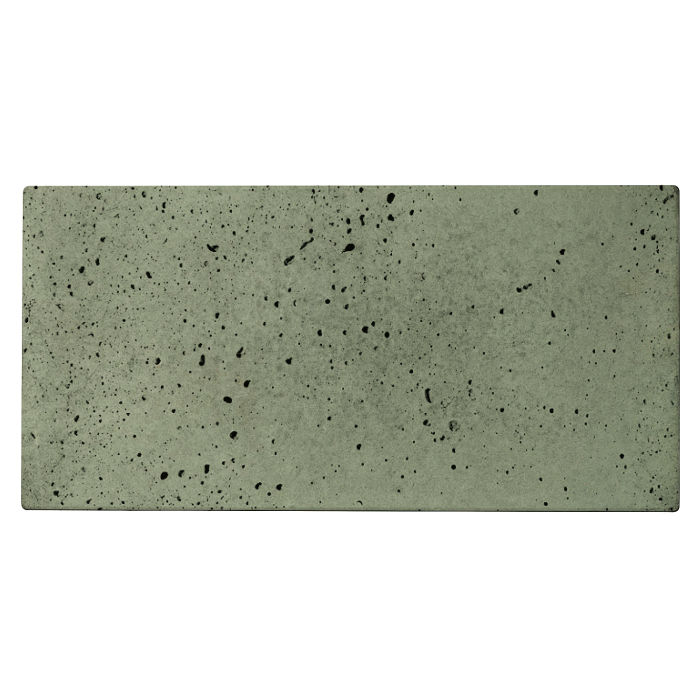 6x12x2 Roman Paver Ocean Green Light Travertine