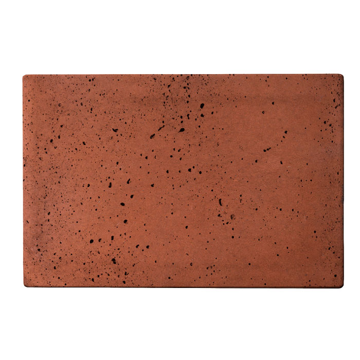 8x12x2 Roman Paver Mission Red Travertine