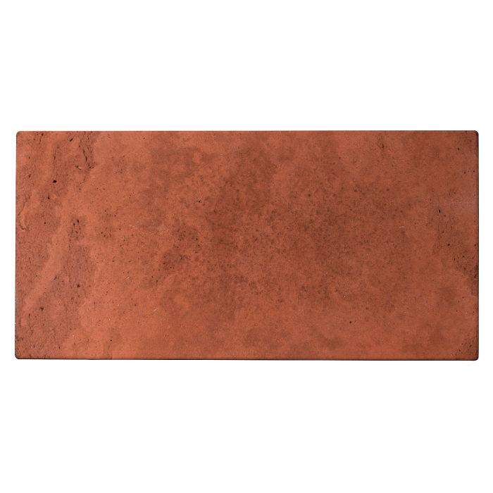 8x16x2 Roman Paver Mission Red Limestone