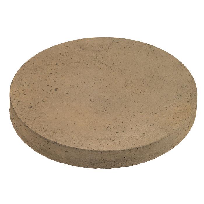 12x12 Roman Pavers Round Caqui Luna