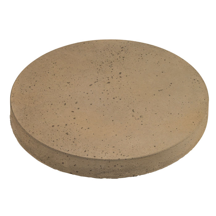 12x12 Roman Pavers Round Caqui Travertine