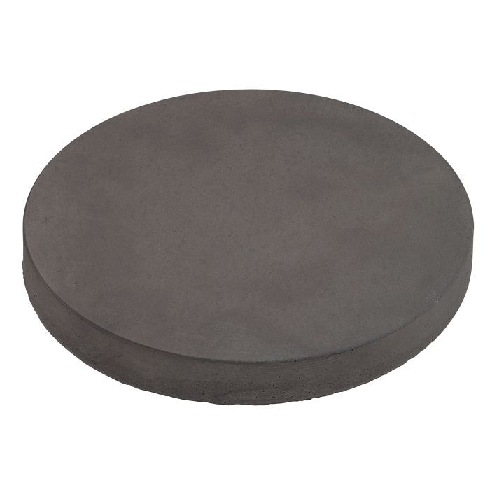 12x12 Roman Pavers Round Charcoal